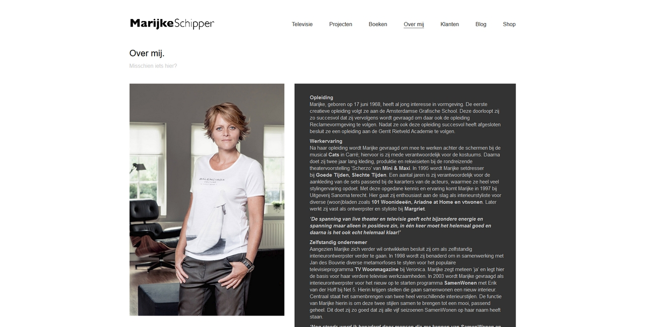 Marijke Schipper - over mij
